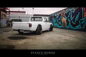 stanced nissan skyline the