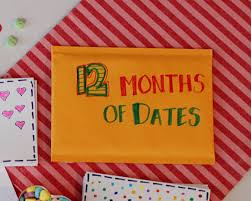 Homemade Valentine Gifts For Him by Holidays Diy Valentine U0027s Day Gift For Him 12 Months Of Dates