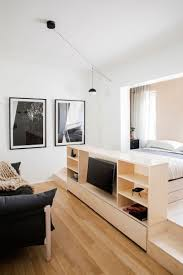 tiny apartment small apartment comes packed with storage solutions curbed