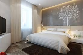 wandgestaltung schlafzimmer modern kleine schlafzimmer modern wandgestaltung weisser baum voegel