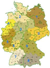 Bamberg Germany Map by Postal Codes In Germany Wikipedia
