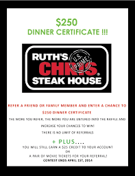 ruth s chris gift cards who here has been to ruth s chris steakhouse delicious right now