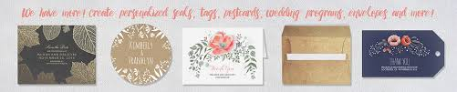 Customized Wedding Invitations Rustic And Modern Wedding Invitations