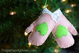 10 easy tree ornaments to make frugal family home