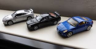Nissan Gtr 350z - datsuns and nissans to infiniti and beyond u2026 jimholroyd diecast