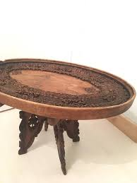 Carved Coffee Table Hand Carved Coffee Table Wooden Bespoke Antique Furniture Seating