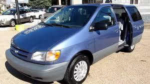 toyota minivan 1999 toyota sienna minivan 59k miles elite auto outlet