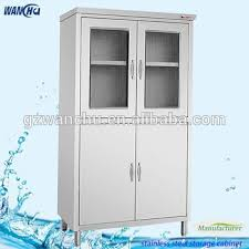 heavy duty steel storage cabinets stainless steel commercial kitchen cupboard industrail kitchen