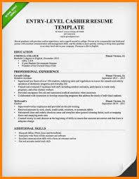 Cashier Resume Templates Free 100 Resume Template Cashier Recent Cover Letters Sample Resume