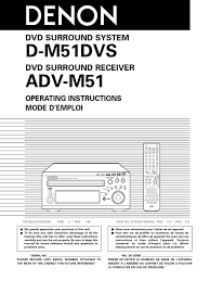 denon m51 manual video compact disc