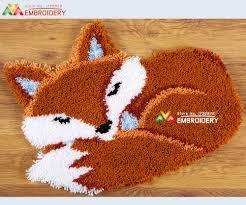new latch hook rug kits diy needlework unfinished crocheting rug
