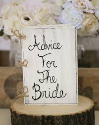 bridal shower guest book bridal shower guest book advice for the book rustic chic