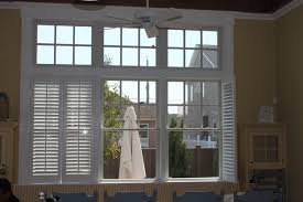 plantation shutters traditional dining room new york by