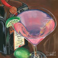 martini glass painting martini art fine art america