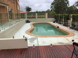 fence design frameless glass pool fencing melbourne fence