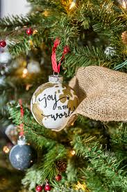 diy hand painted ornaments murphy goode