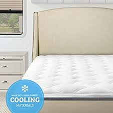 amazon com rv mattress pad extra plush bamboo topper with