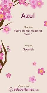 meaning of azul azul is a spanish vocabulary word meaning