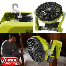 ryobi fan and battery ryobi battery portable fans ebay