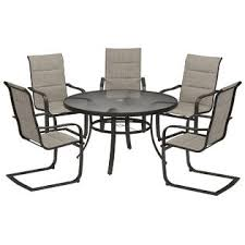 K Mart Patio Furniture Essential Garden Cameron Dining Table Limited Availability