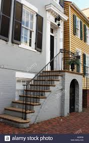 american colonial houses georgian house front door steps stock photos u0026 georgian house