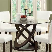 Dining Table Style Monarch Specialties I 1749 Olympic Ring Style Dining Table