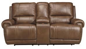 signature design by ashley paron vintage double reclining