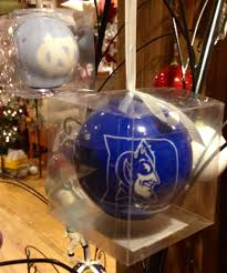 unc and duke led ornaments for all of our sports fans