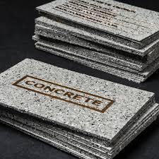 concrete business cards concrete style business cards with gold foiling jukeboxprint com