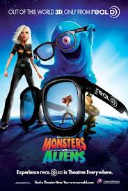monsters aliens 2009 poster 14 trailer addict