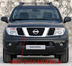 nissan chrome front chrome abs grid grill grille nissan frontier navara d40 20