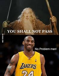 Kobe Bryant Injury Meme - kobe bryant and gandalf 9gag