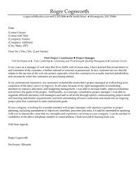project manager cover letter sle cover letter for project manager adriangatton