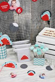 shark birthday invitations boy u0027s birthday party ideas shark party pear tree blog