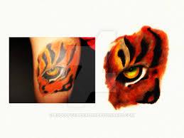 eye of the tiger by rodolfocarvalho on deviantart