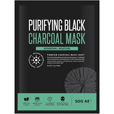 soo ae purifying black charcoal mask 0 88 oz walmart com