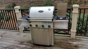 Char Broil Patio Caddie Gas Grill by Best Vermont Castings 4 Burner Grill With Side Burner For Sale In