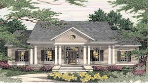 One Story Colonial House Plans House Free Design Ideas House Plans Colonial Style House Plans
