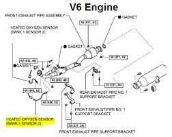 2001 ford f150 oxygen sensor location p0156 2007 toyota camry oxygen sensor bank 2 sensor 2 circuit