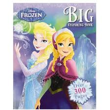 disney frozen big colouring book warehouse
