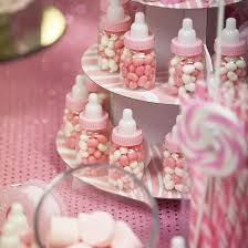 baby shower bottle favors pink baby bottle shower favors it s a girl theme baby shower