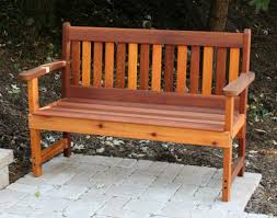 garden bench and seat pads best paint for outdoor wood furniture