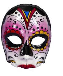 costume masks day of the dead mask women costume
