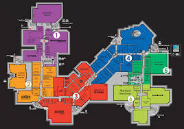 Brea Mall Map This Map Of The Ontario Mills Mall In Ontario California Shows