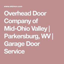 Overhead Door Fargo Overhead Door Company Of Mid Ohio Valley Parkersburg Wv