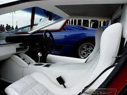 white lamborghini interior countach lp500 quattrovalvole lp500qv144 hr image at lambocars com