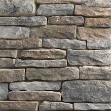 Stacked Stone Veneer Interior Others River Rock Siding Airstone At Lowes Lowes Stone Veneer