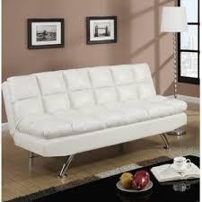 mainstays sofa sleeper faux leather sofa beds you u0027ll love wayfair