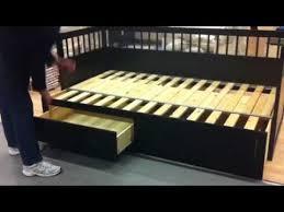 Ikea Single Beds Ikea Converting Bed Youtube