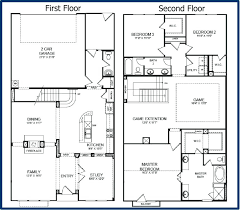 small 2 story floor plans floor plan for two storey house in the philippines small 2 story